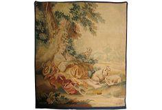 Antique   French   Tapestry on OneKingsLane.com