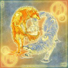 Sun & Moon wolves