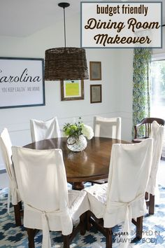 Budget-friendly Dining Room Makeover by Ace Blogger @designertrapped
