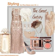 The Great Gatsby - Plus Size Evening Gowns