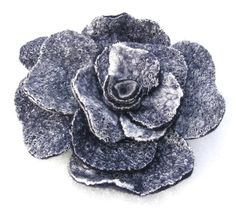 Hand made felted flower brooch by Jurgafelt on Etsy, $20.00
