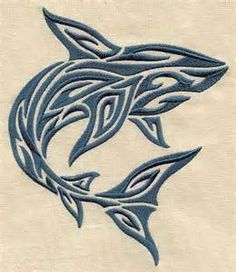 shark drawing tribal - Yahoo Image Search Results