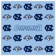 N. Carolina Tar Heels Microfiber Cleaning Cloth