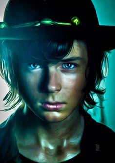 The Walking Dead (2010-?) Carl Grimes ~ Chandler Riggs
