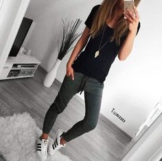 more summer tomboy outfits, casual hipster outfits, casual athletic outfits, Tomboy Fashion, Look Fashion, Autumn Fashion, Fashion Outfits, Fashion Ideas, Vogue Fashion, Fashion Styles, Fashion Photo, Womens Fashion