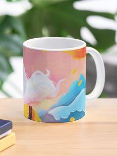"""Peaceful"" Mug by galactixy   Redbubble Custom Mugs, Serenity, Finding Yourself, Scene, Peace, Tableware, Unique, Artist, Design"