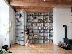 Dit appartement in Slowakije heeft een verborgen ruimte - Roomed