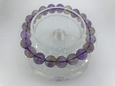 110 Crt Natural Ametrine beads bracelet  NATURAL AMETRINE GEMSTONE BRACELET   FROM GEMROCKAUCTIONS.COM