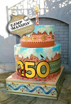 Lemp Mansion Cake