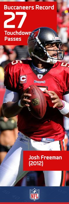 Josh Freeman set the Tampa Bay Buccaneers touchdown record for a season in his 4th year on the team.