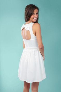 dafffe859475 Sweet Disposition Dress-White Shop Red Dress