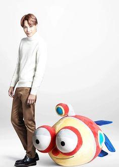 160203 EXO for Lotte Duty Free - Kai