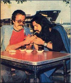 Cem Karaca & Barış Manço... Music Pics, Very Tired, Rockn Roll, Old Ones, Snoop Dogg, Turkish Actors, Music Is Life, Barista, Old Things