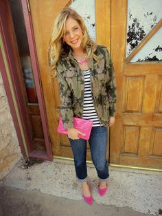 Camo/Pink one of my favorite Fashion Bloggers @Shanna Freedman Schneider