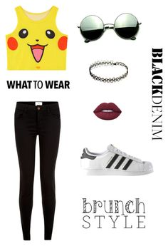 A fashion look from May 2016 featuring yellow tank, 5 pocket jeans and stripe shoes. Browse and shop related looks. Striped Shoes, Lime Crime, New Look, What To Wear, Adidas Sneakers, 18th, Fashion Looks, Polyvore, Shopping