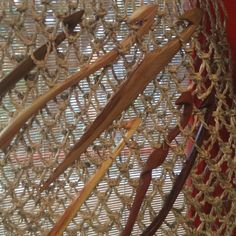 Crochet maderas nativas diseño unico