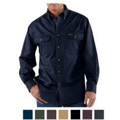 8518405770 Carhartt Men s Sandstone Twill Shirt S09 Carhartt Shirts