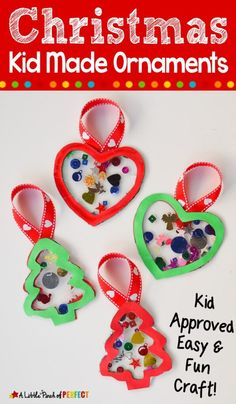 Paper Christmas Ornament Craft for Kids Preschool Christmas, Christmas Gifts For Kids, Homemade Christmas, Christmas Stuff, Christmas Holidays, Salt Dough Christmas Ornaments, Christmas Ornament Crafts, Christmas Decorations, Craft Projects For Kids