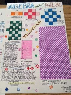 More details on the first day of school pattern task activity