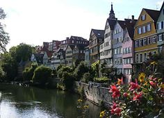 towns in germany | the beautiful town of tuebingen is situated in southern germany