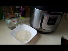 Pressure Cooker Recipes: How to Make White Rice in an Instant Pot - YouTube