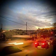 #jerusalem #sunset at my #pilgrimage to #holyland