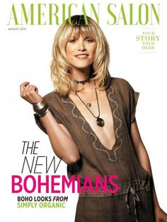 Simply Organic sulla copertina di American Salon Magazine di agosto