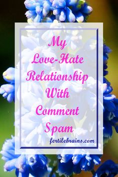 Do you get a lot of comment spam? Here are a few reasons to love them! Funny Blogging. Read Now and/or Pin For Later #blogging