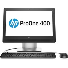 Hewlett Packard HP ProOne 400 is a Windows 7 Professional all-in-one desktop of full HD display that makes each image and video appear sharp and crisp. All In One Pc, Hewlett Packard, 4gb Ram, Pc Computer, Monitor, Desktop, Business, Display, Windows 10