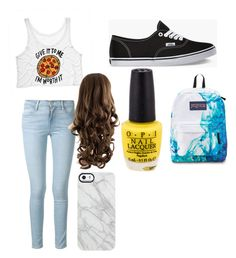 """""""Back to school"""" by xoxadame ❤ liked on Polyvore"""