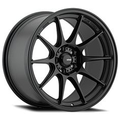 2 New Konig Dekagram Black Wheels Rims 40 Black Rims, Black Wheels, Matte Black, Konig Wheels, Flow Forming, Bronze Wheels, Buy Tires, Aftermarket Wheels, Toyota Avalon