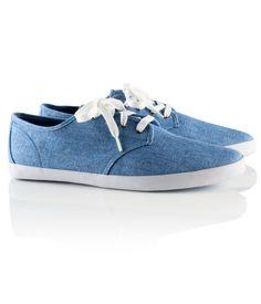 H Stoffsneakers blau