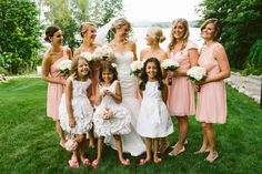 Flower girl dresses http://www.stylemepretty.com/2014/09/22/darling-summer-new-hampshire-wedding-at-the-wolfeboro-inn/