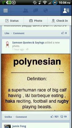 This one made me Lol! Polynesian Men, Polynesian Culture, Samoan Men, Island Tattoo, Islands In The Pacific, The Rock Dwayne Johnson, Culture Shock, South Pacific, Island Life