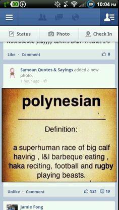 Samoans ;)