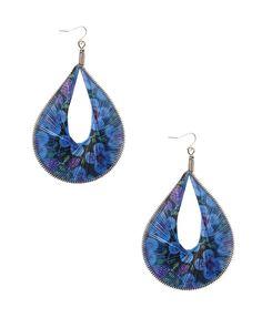 Floral Teardrop Earrings | FOREVER21 - 1000036333