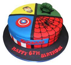 30 Best Picture of Superhero Birthday Cake . Superhero Birthday Cake All In One Superheroes Cake Avengers Birthday Cakes, Hulk Birthday, Superhero Birthday Cake, 4th Birthday, Captain America Birthday Cake, Little Boy Cakes, America Cake, Iron Man Birthday, Bithday Cake
