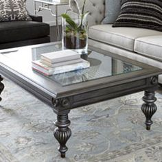 Explore Ethan Allen's modern coffee tables in a range of materials, sizes, styles, shapes, and finishes. Both large-scale and small coffee tables. Shop now! Decor, Luxury Living Room, Centre Table Living Room, Living Table, Centre Table Design, Table, Decorating Coffee Tables, Coffee Table, Dining Table Design