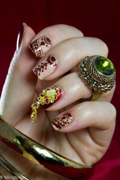 http://www.blingfinger.net/2014/06/indian-bridal-nails.html