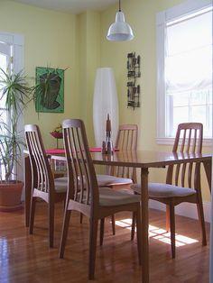 Benny Linden Teak Dining Chairs