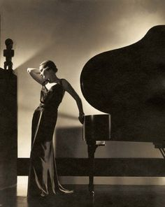Assymetry- Eighty Year Old Unpublished Photo Gems From Fashion Photographer Edward Steichen