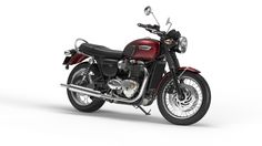 Bonneville T120_cinder_red_Front_quarter