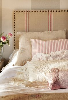 Cozy Bedroom, Master Bedroom, House By The Sea, Fancy Houses, Decoration, Bed Pillows, Pillow Cases, Sweet Home, House Design