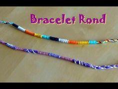 Easy Friendship Bracelet : the braid Friendship Bracelets Tutorial, Diy Bracelets Easy, Paracord Bracelets, Macrame Bracelets, Bracelet Tutorial, Ankle Bracelets, Bracelet Fil, Bracelet Crafts, Anklet Designs