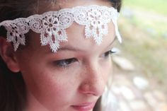 Items similar to Bridal Lace Headpiece - Wedding Headband, Lace Hairpiece, Lace Wedding Veil Front Attachment, Fantasy / Fairytale Wedding, lace headband on Etsy Wedding Lace, Wedding Hair Flowers, Headpiece Wedding, Wedding Veil, Bridal Lace, Flowers In Hair, Dream Wedding, Lace Headbands, Diy Headband