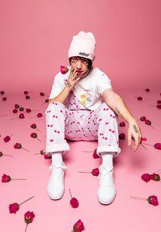 "Diego (Lil Xan) Debuts New ""Xanarchy"" Valentine's Day Apparel"