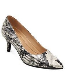Jewel Badgley Mischka Robles Ornamented Pumps & Reviews - Pumps - Shoes - Macy's Casual Loafers, Casual Sneakers, Pump Shoes, Shoe Boots, Best Wedding Guest Dresses, Kitten Heel Pumps, Plus Size Shopping, Badgley Mischka, Mens Gift Sets