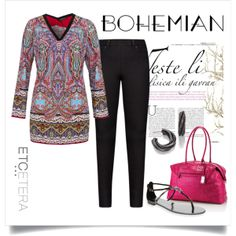 VIOLETTA tunic and SPADE legging   Etcetera Spring Collection 2014