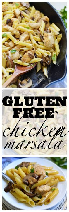 Gluten Free Chicken Marsala from What The Fork Food Blog. An easy and delicious weeknight dinner that's good enough for company. | whattheforkfoodblog.com