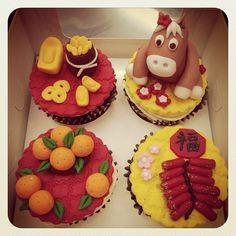2014 CNY cupcakes